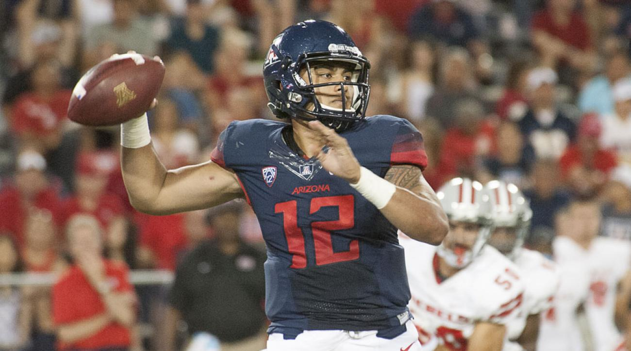 Anu Solomon Arizona quarterback