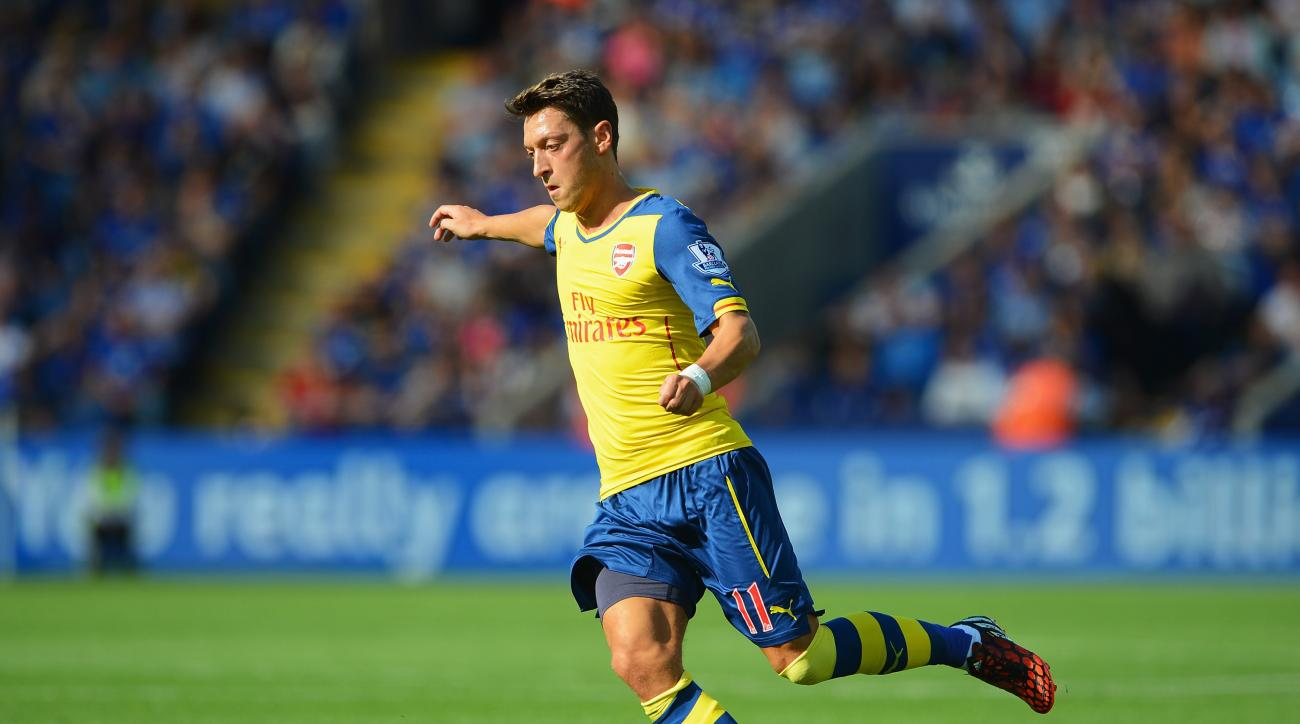 Mesut Ozil germany ankle injury friendly argentina arsenal