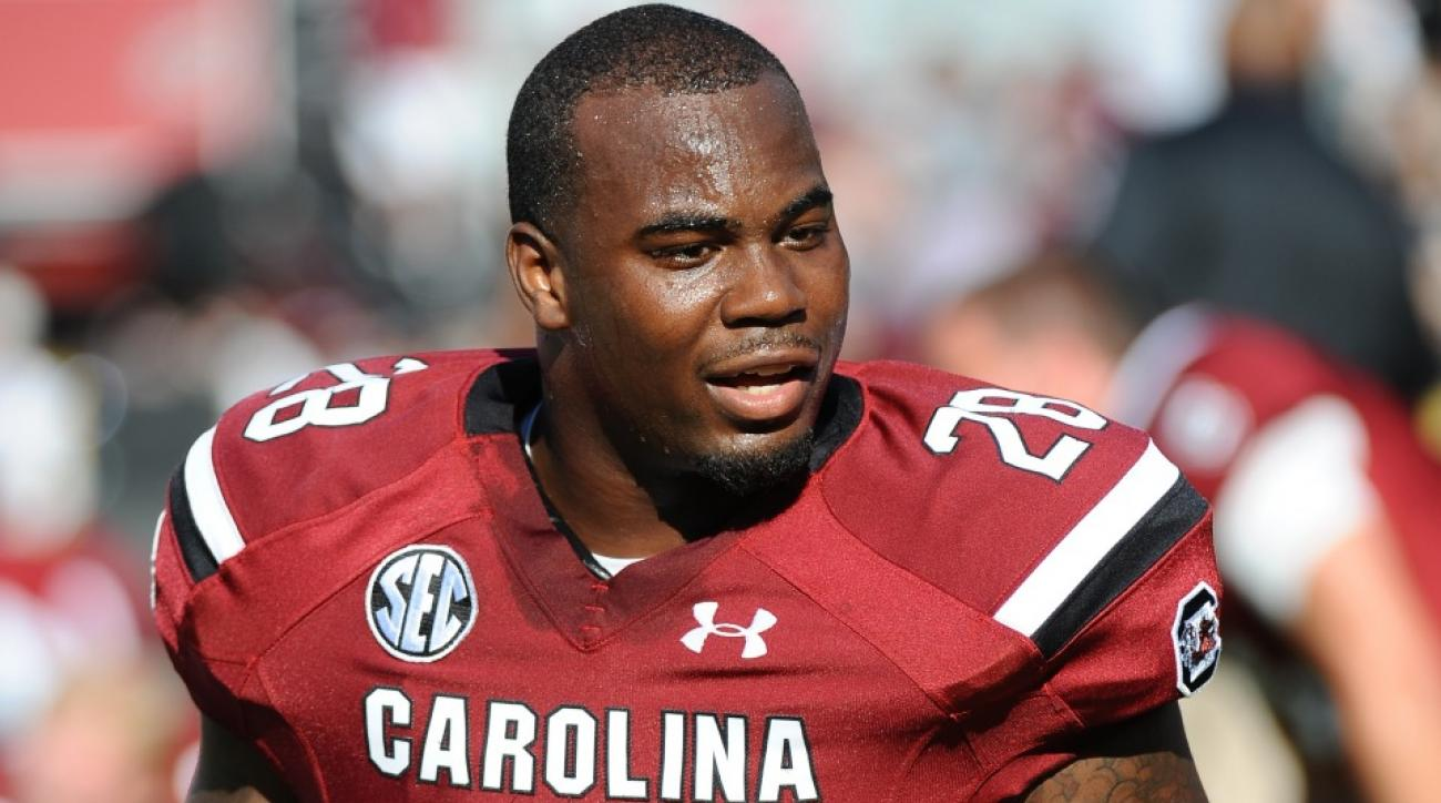 South Carolina running back Mike Davis