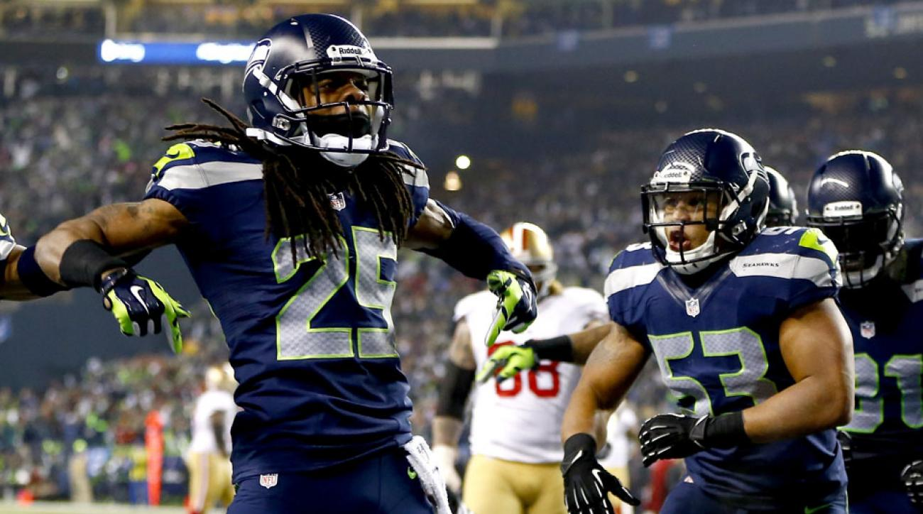 Richard Sherman and the Seahawks will play the San Francisco 49ers on Thursday Night Football in 2014.