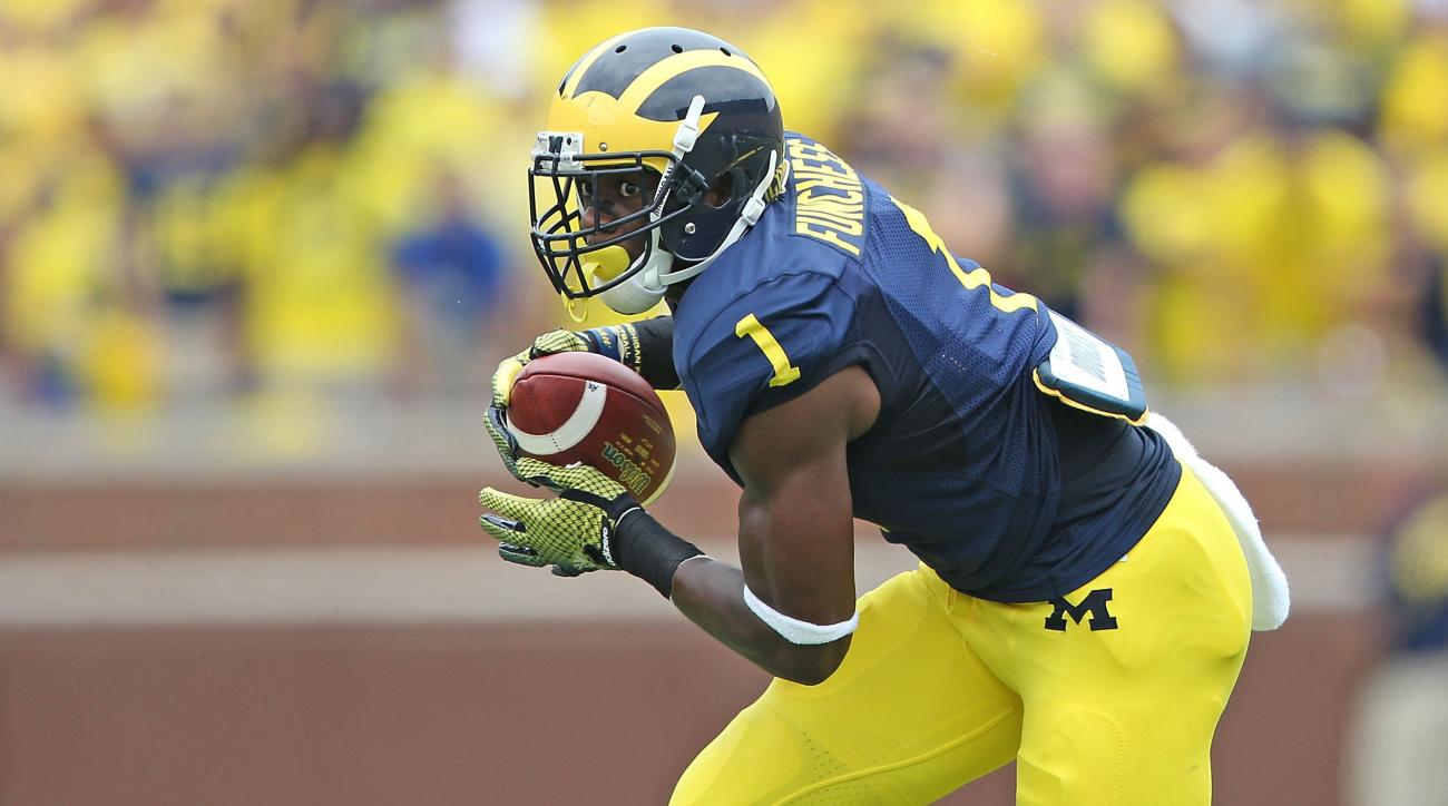 Devin Funchess Michigan receiver