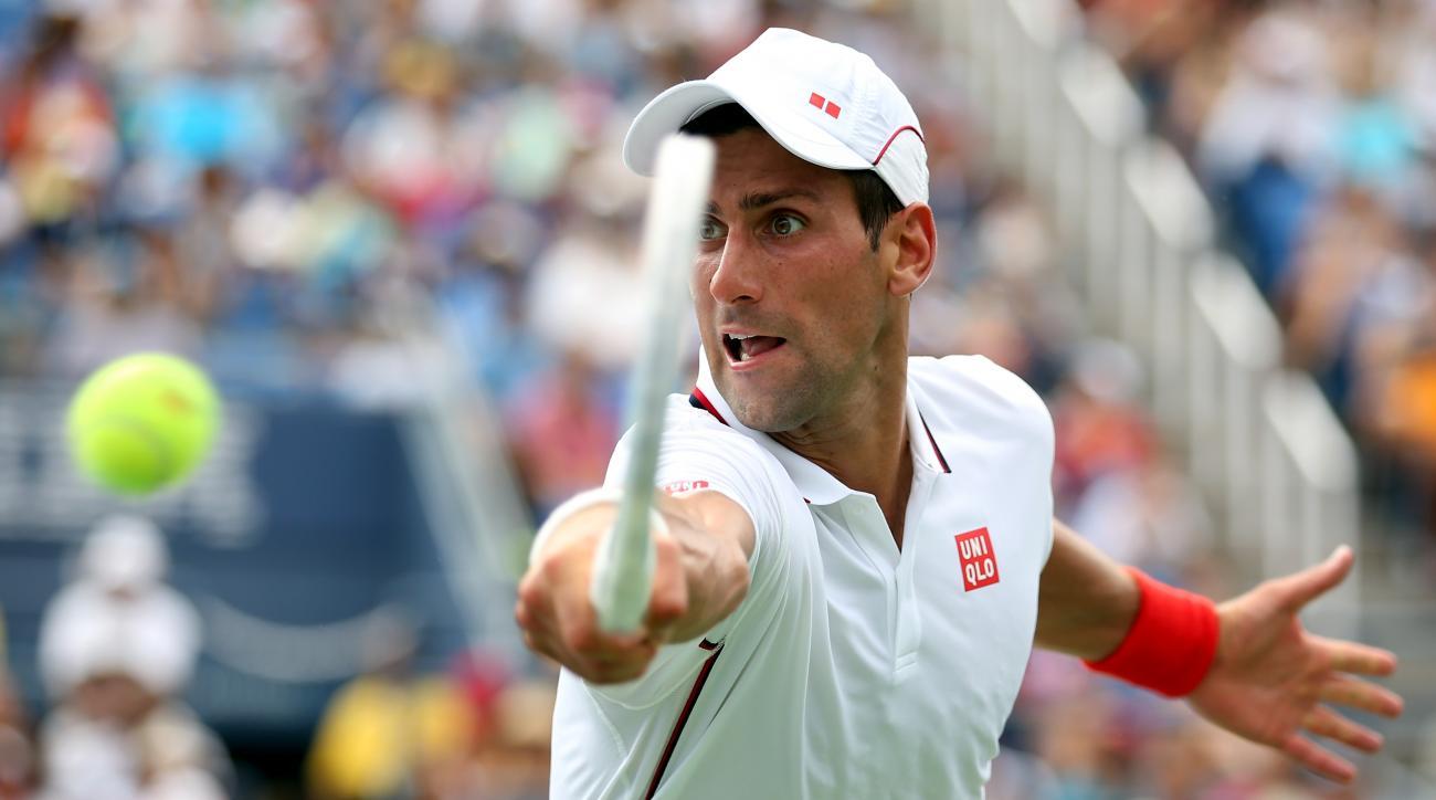 Novak Djokovic us open 2014 day 10 schedule