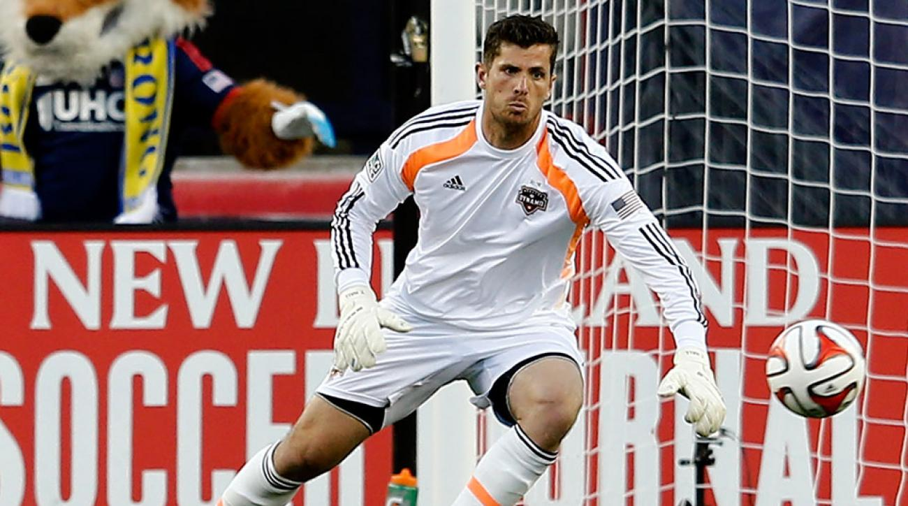 Tally Hall goalkeeper Houston Dynamo