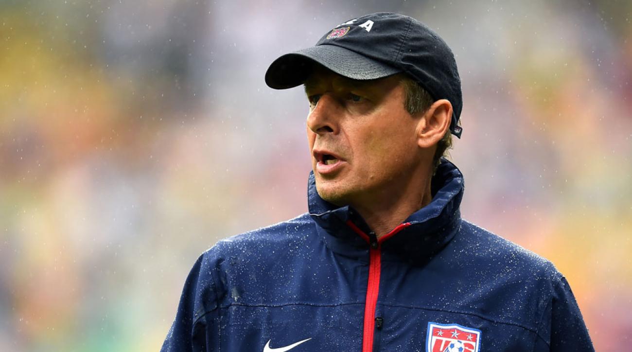 Jurgen Klinsmann USA 2018 World Cup goal