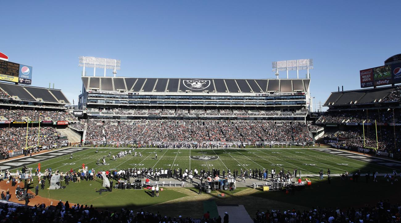 Oakland Raiders stadium