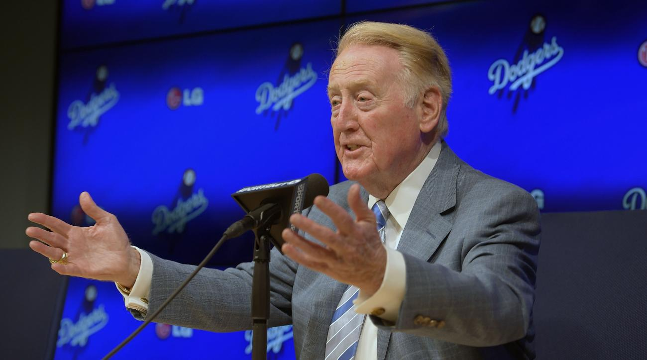 Vin Scully Dodgers