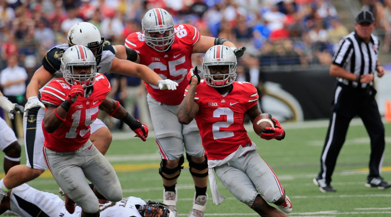Ohio State Virginia Tech week 2 game time live stream tv radio