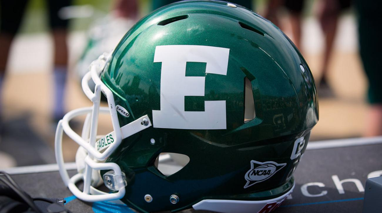 Three Eastern Michigan football players have been charged with counts of assault.