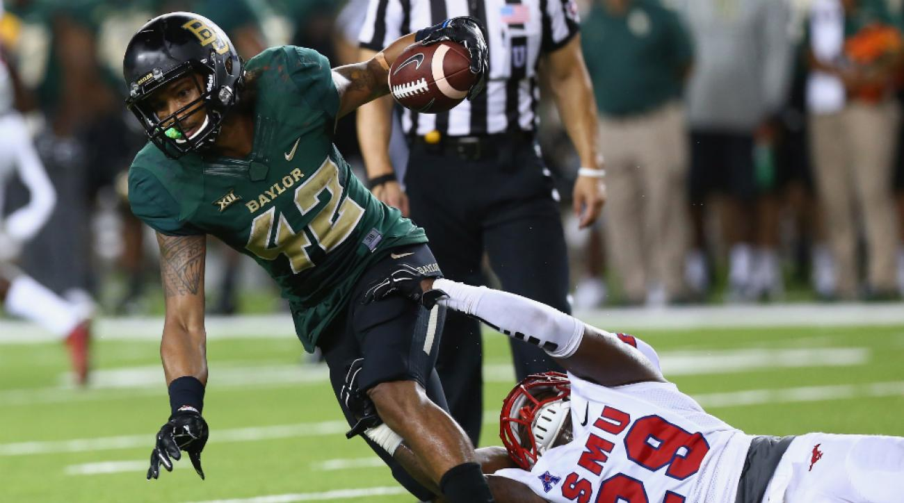 Baylor receiver Levi Norwood surgery out 3 weeks