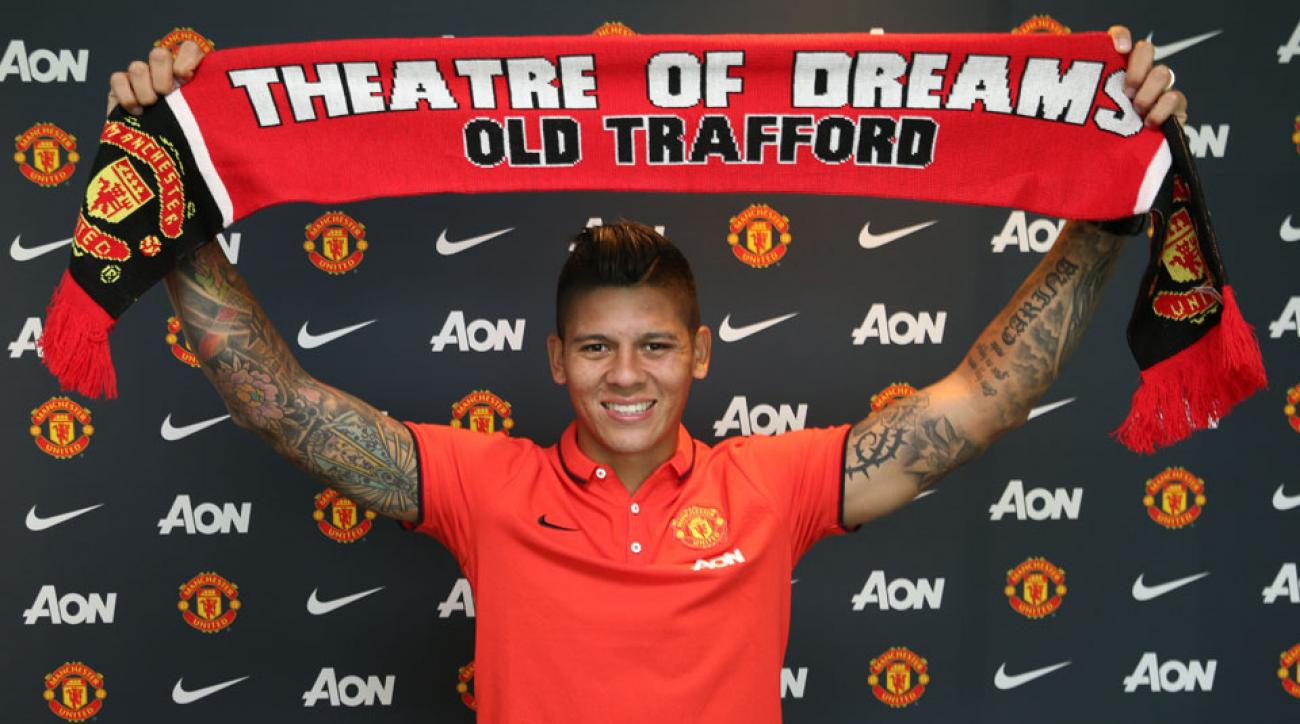 Marcos Rojo of Manchester United will be able to debut against Queens Park Rangers after receiving his work permit.