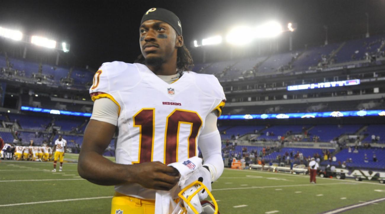 Washington Redskins RG3 not worried about critics