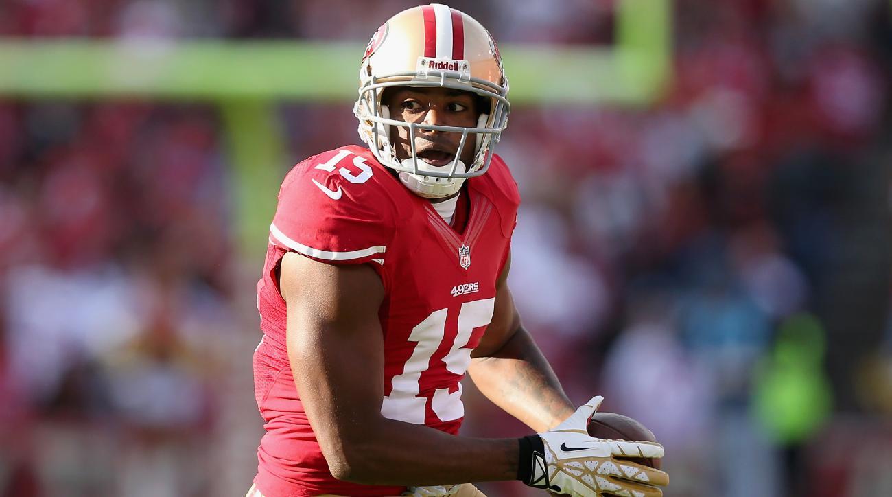 San Francisco 49ers michael crabtree injury