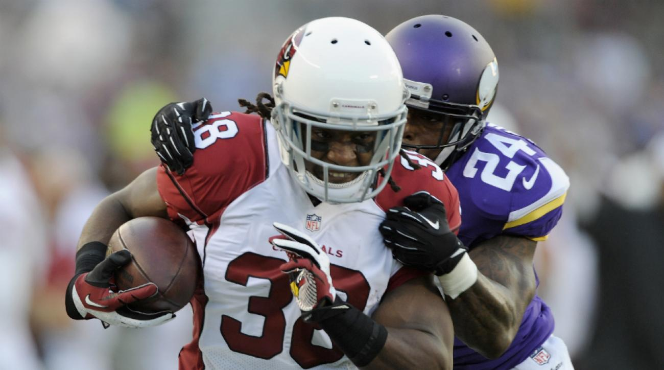Cardinals running back Andre Ellington injury out