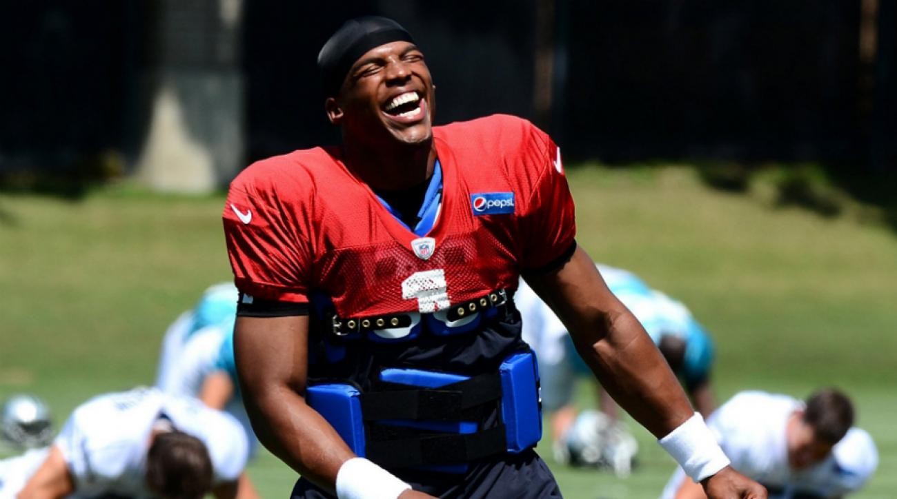 Panthers' Cam Newton injury week 1 status
