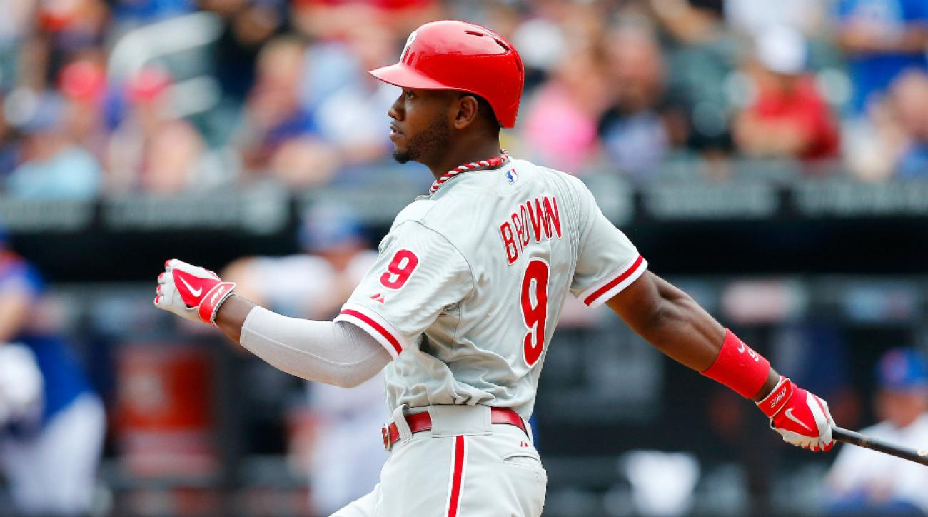 Phillies try to trade Domonic Brown