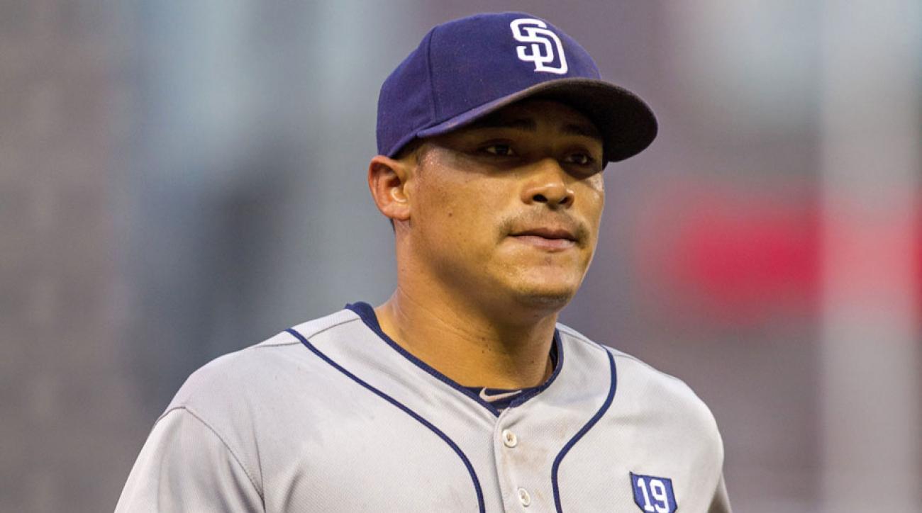 Padres shortstop Everth Cabrera