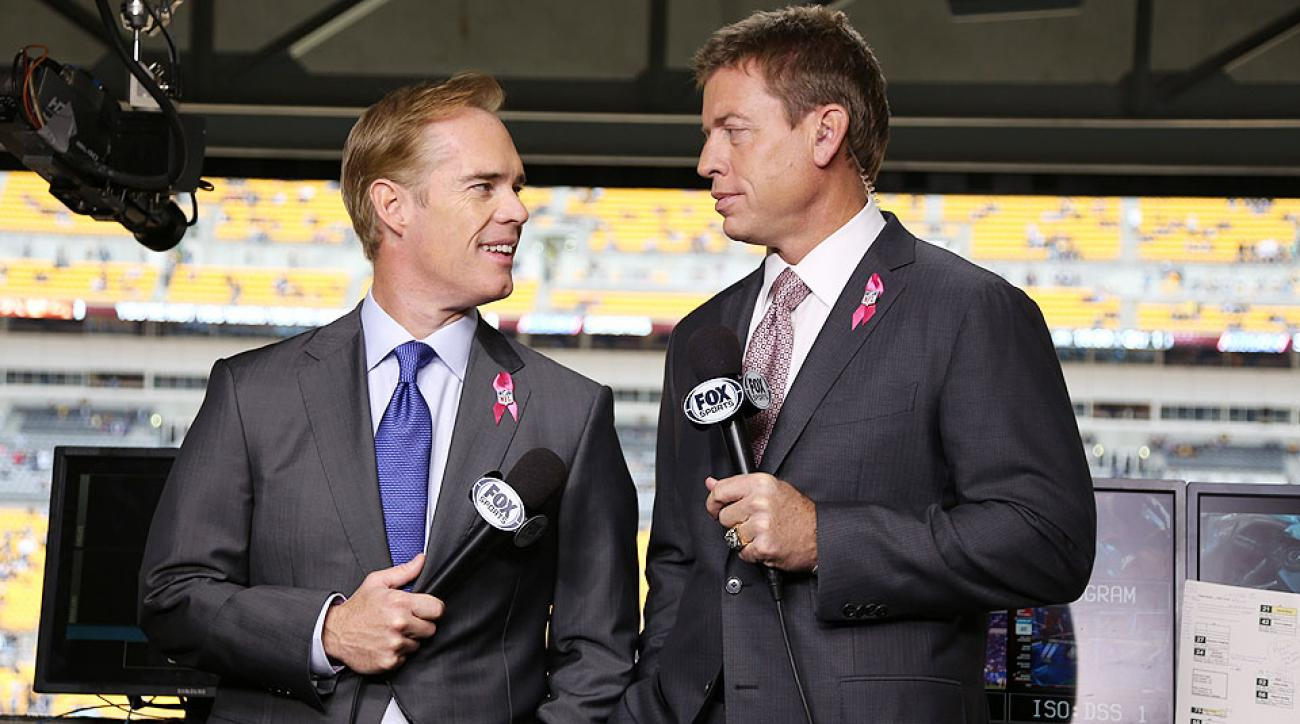 Fox NFL broadcast preview: Erin Andrews replaces Pam Oliver, Joe Buck and Troy Aikman still No. 1 team