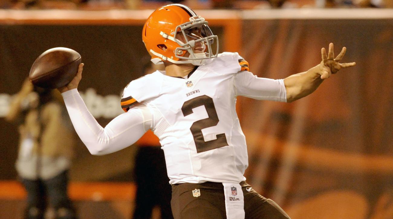 Johnny Manziel Cleveland Browns