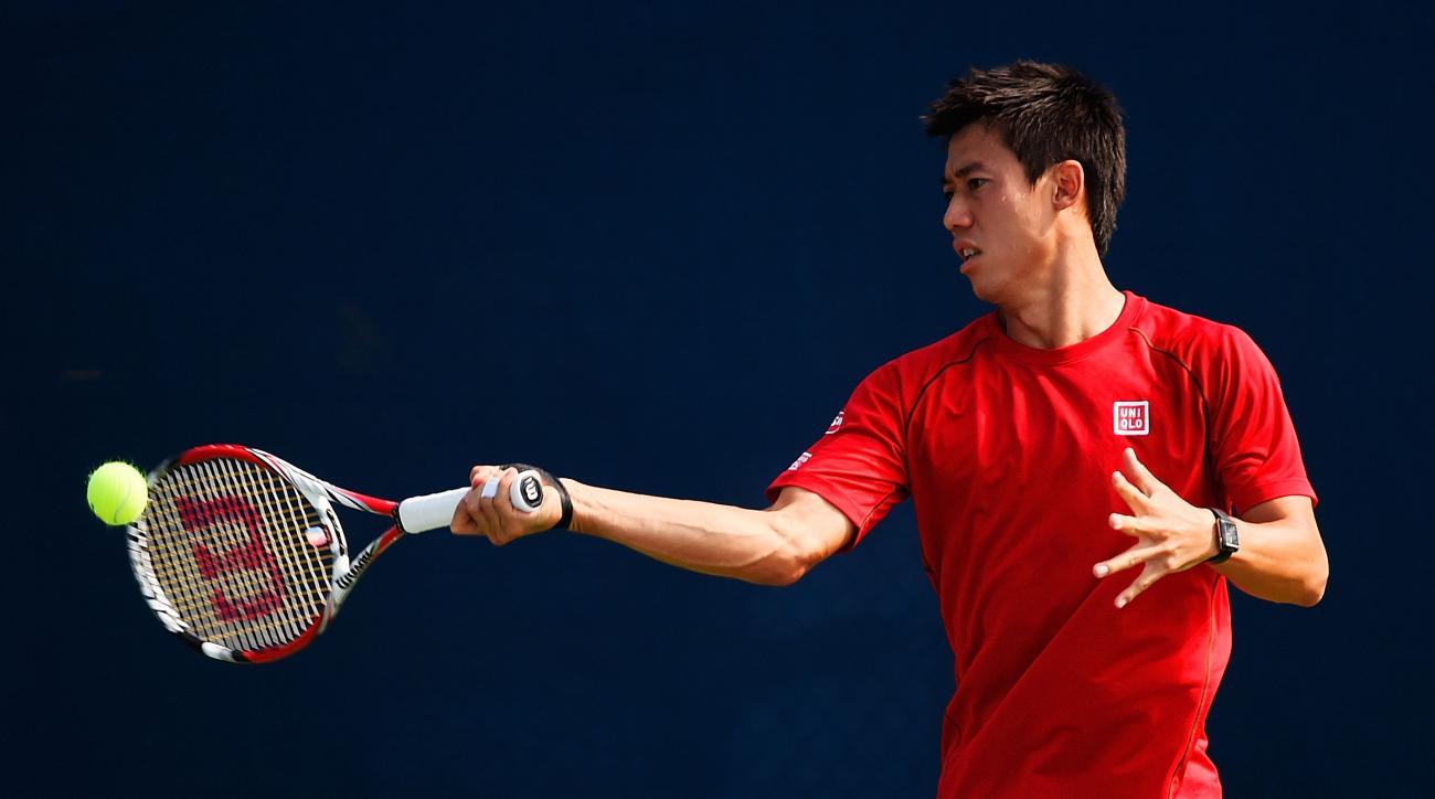 Kei Nishikori vs Novak Djokovic