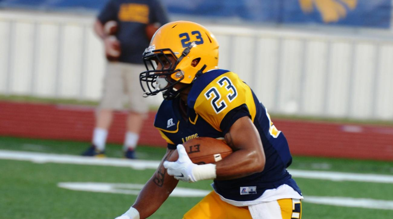 Texas A&M-Commerce running back Richard Cooper had 118 of the team's record 986 yards