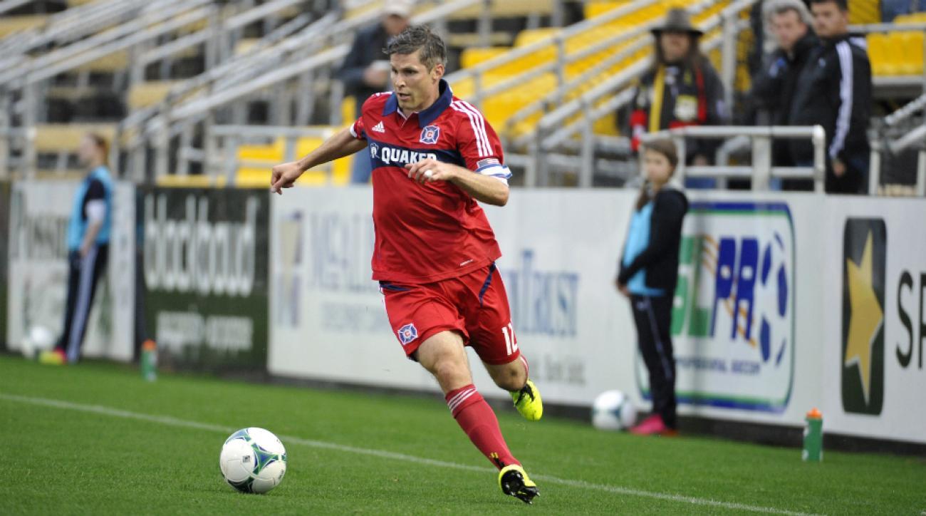 Chicago Fire midfielder Logan Pause retires