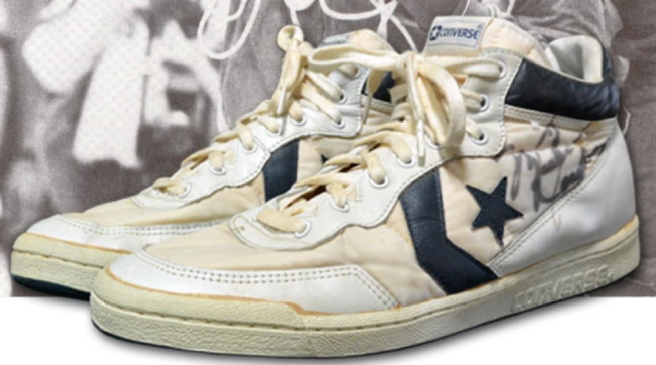 Michael Jordan's shoes from 1984 Olympic gold medal game for sale