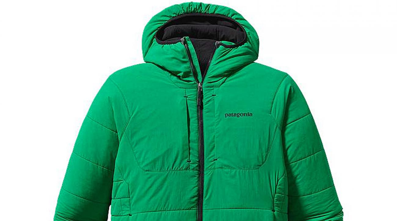 Patagonia's versatile Nano-Air jacket stretches like fleece while simultaneously offering complete temperature protection.