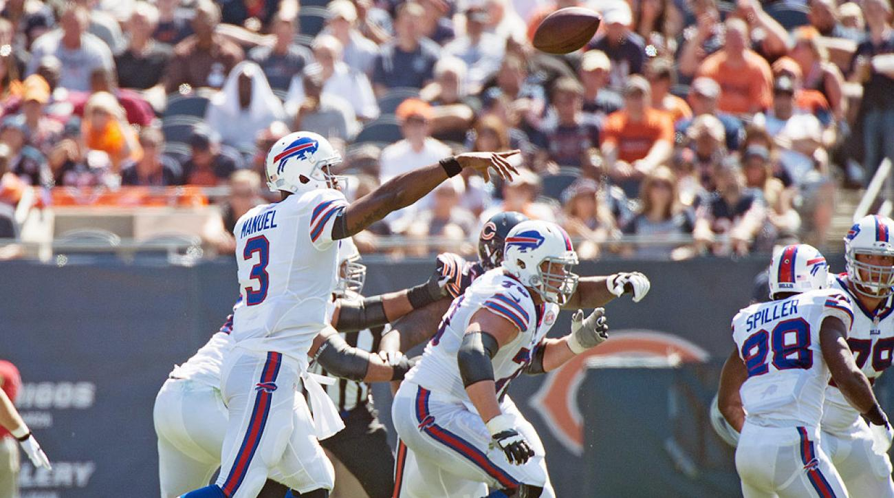 EJ Manuel, Buffalo Bills pull off unexpected upset against Chicago Bears in overtime