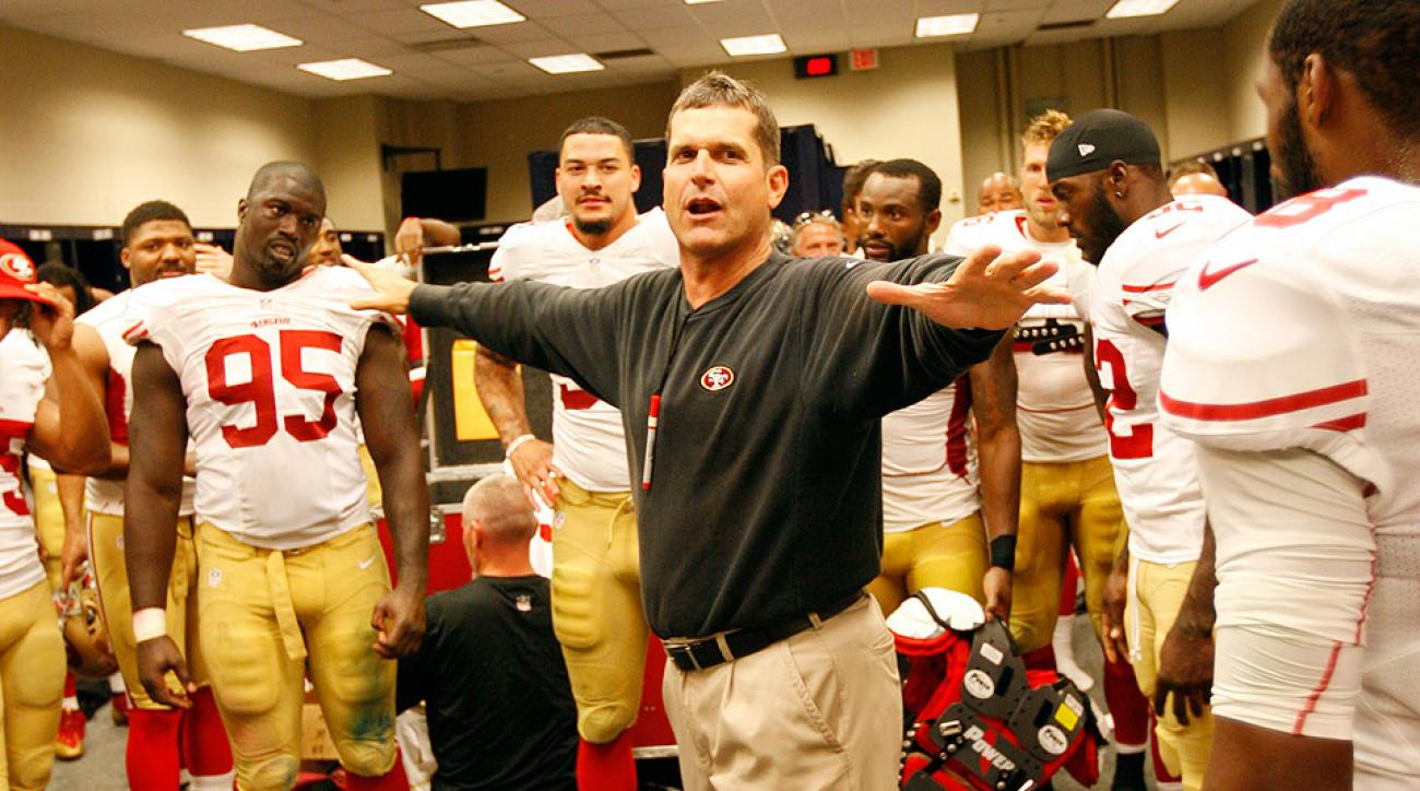 Jim Harbaugh losing San Francisco 49ers' locker room, per report