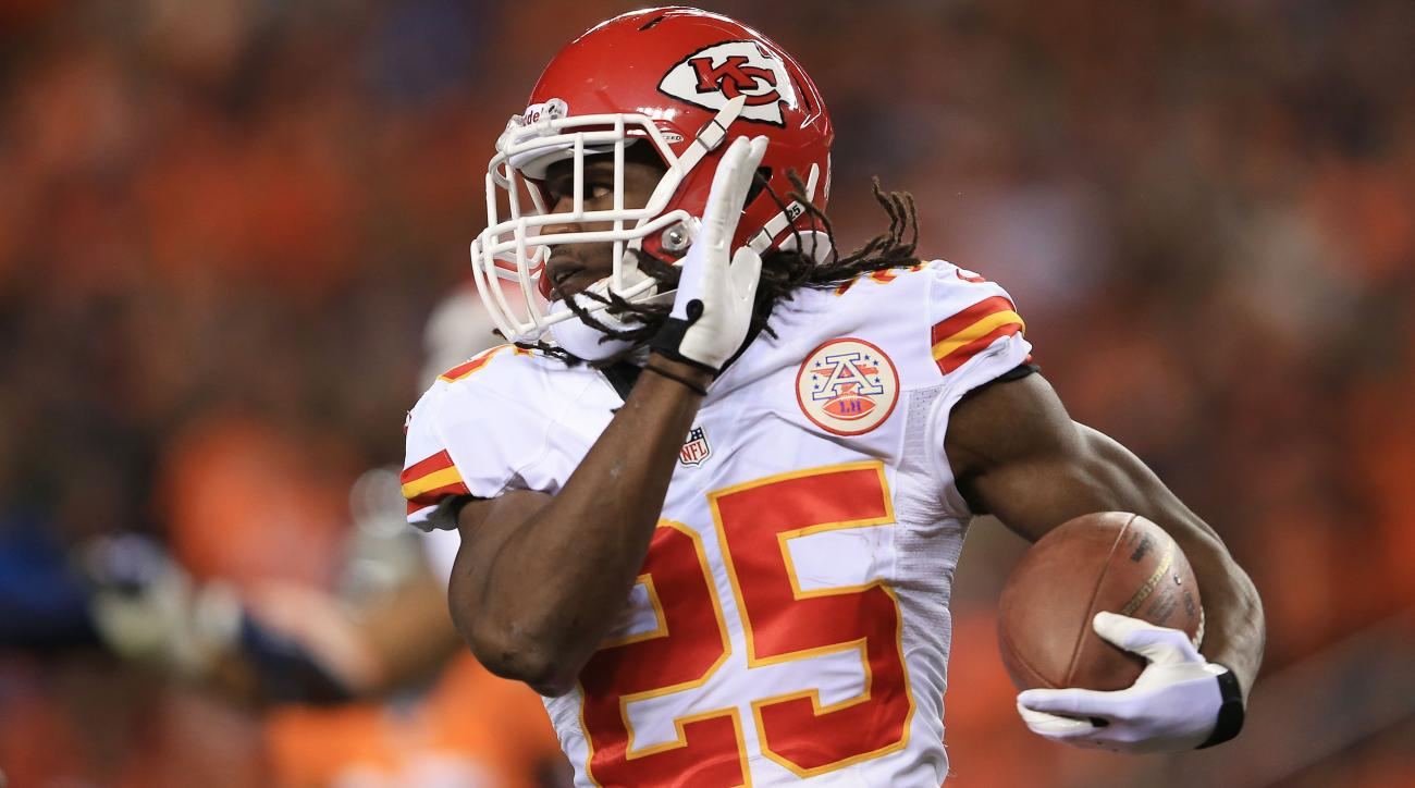andy reid jamaal charles touches negligent