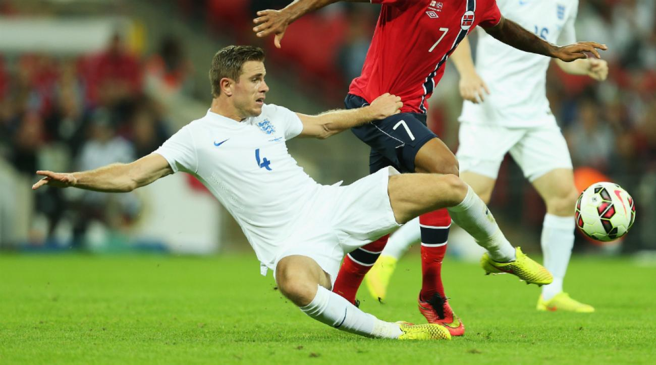 England midfelder Jordan Henderson ankle injury
