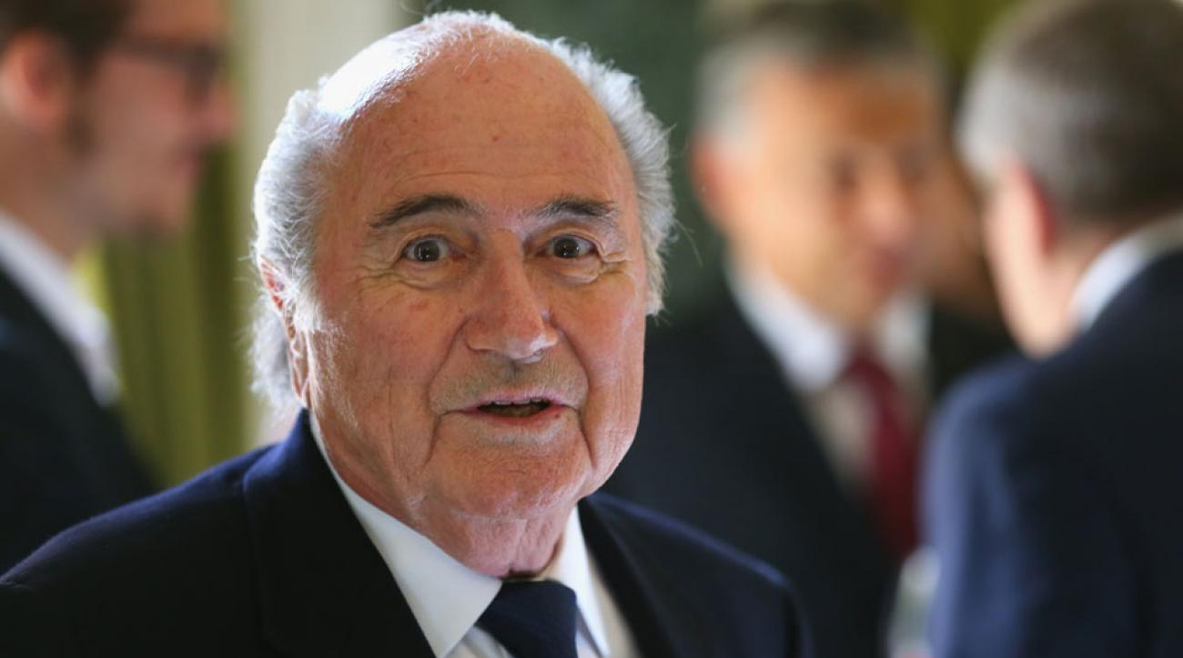 Sepp Blatter discussed the possibility of the United States hosting the 2026 World Cup.