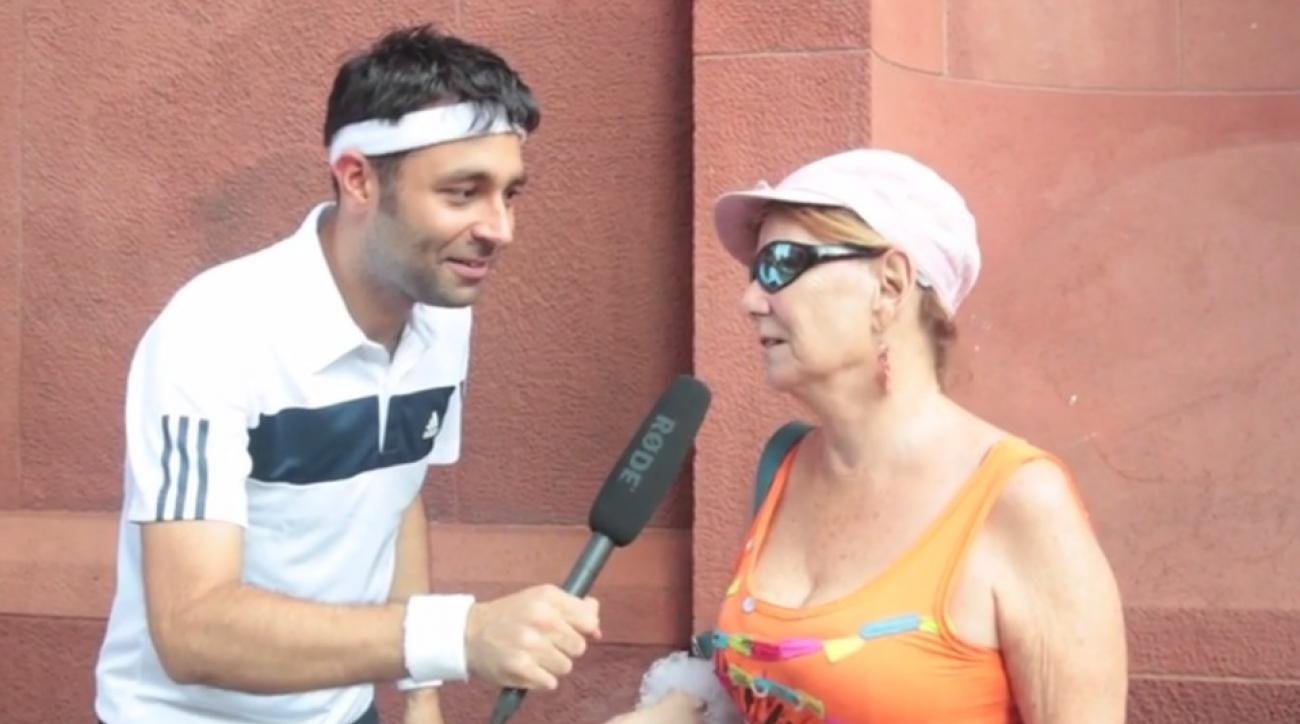 Talking about Tennis Grunts