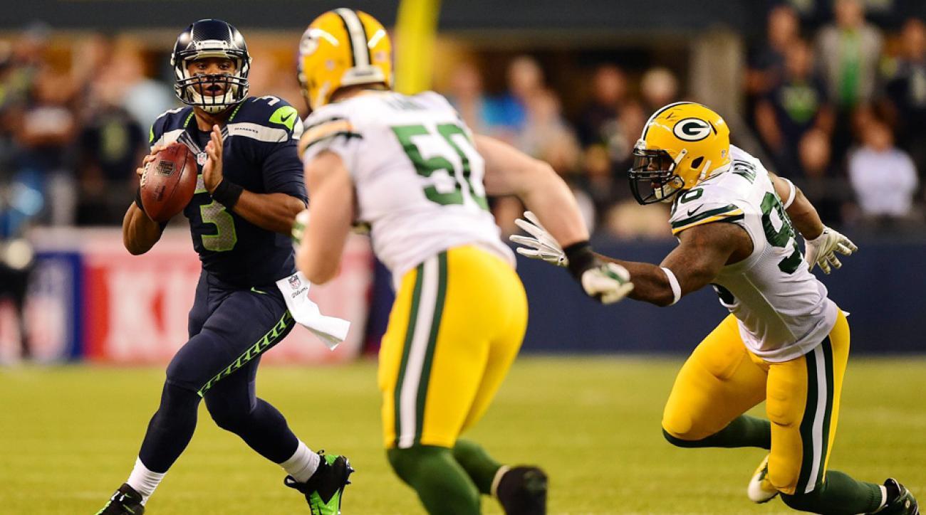 Seattle Seahawks offense still evolving around Percy Harvin, Russell Wilson