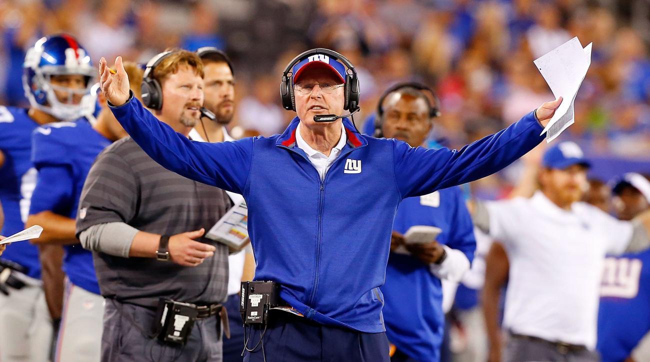 New York Giants Tom Coughlin