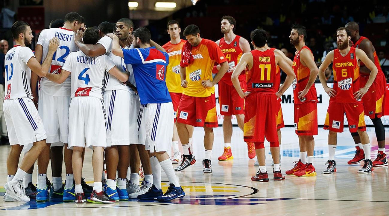 France upset Spain in the FIBA World Cup quarterfinals, and ended any chance of a possible United States-Spain final showdown.