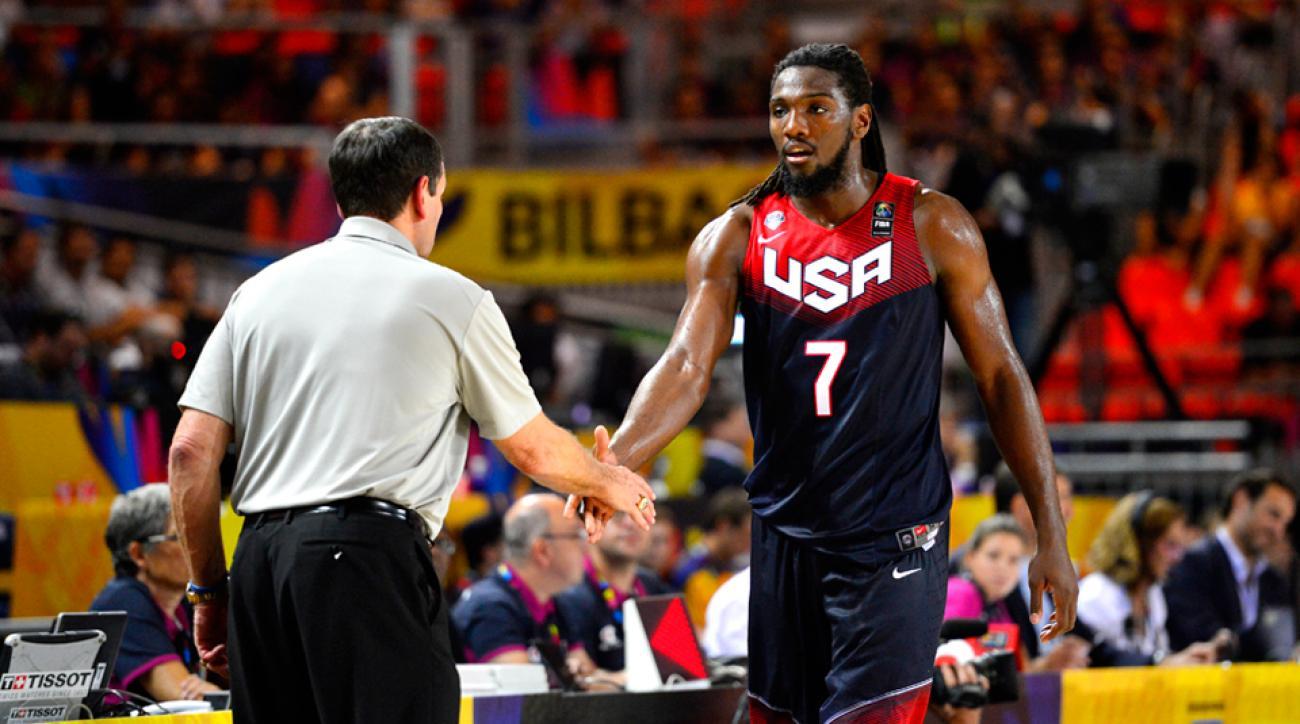 Kenneth Faried Team USA