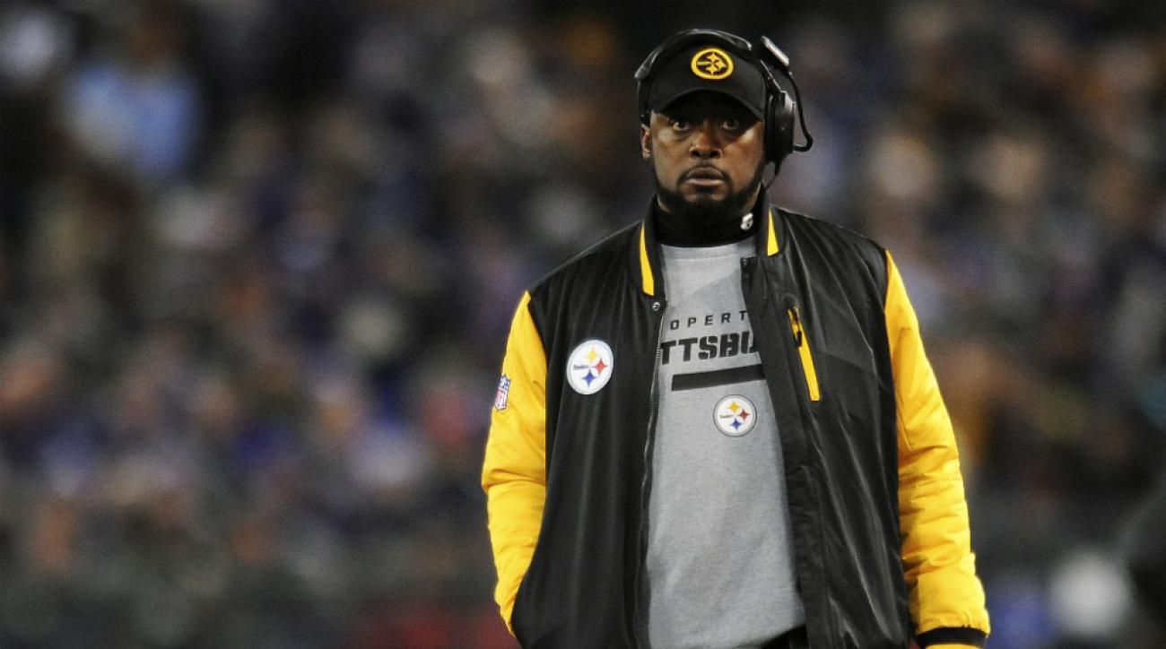 Steelers Ravens Mike Tomlin Jacoby Jones