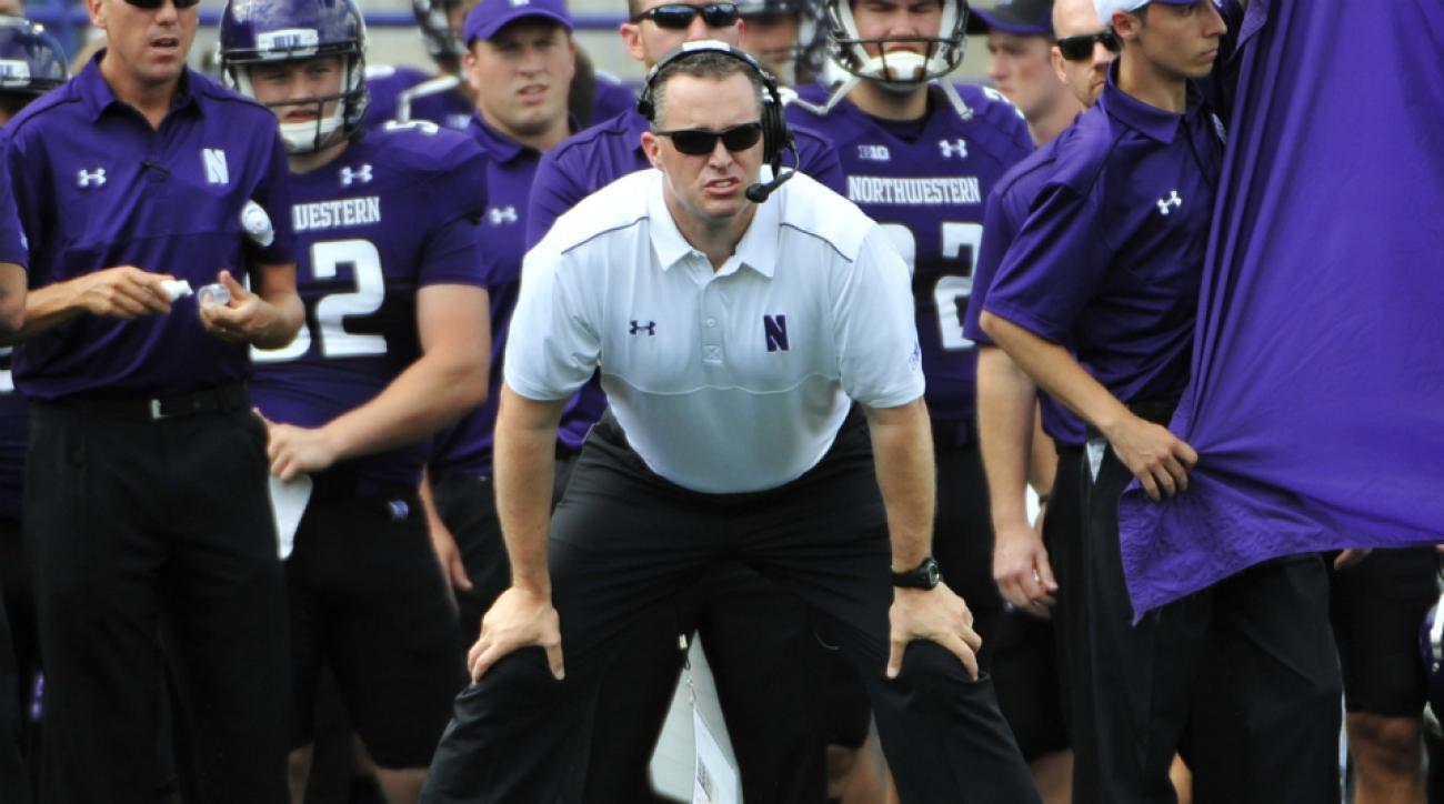 Northwestern embarrassment Pat Fitzgerald