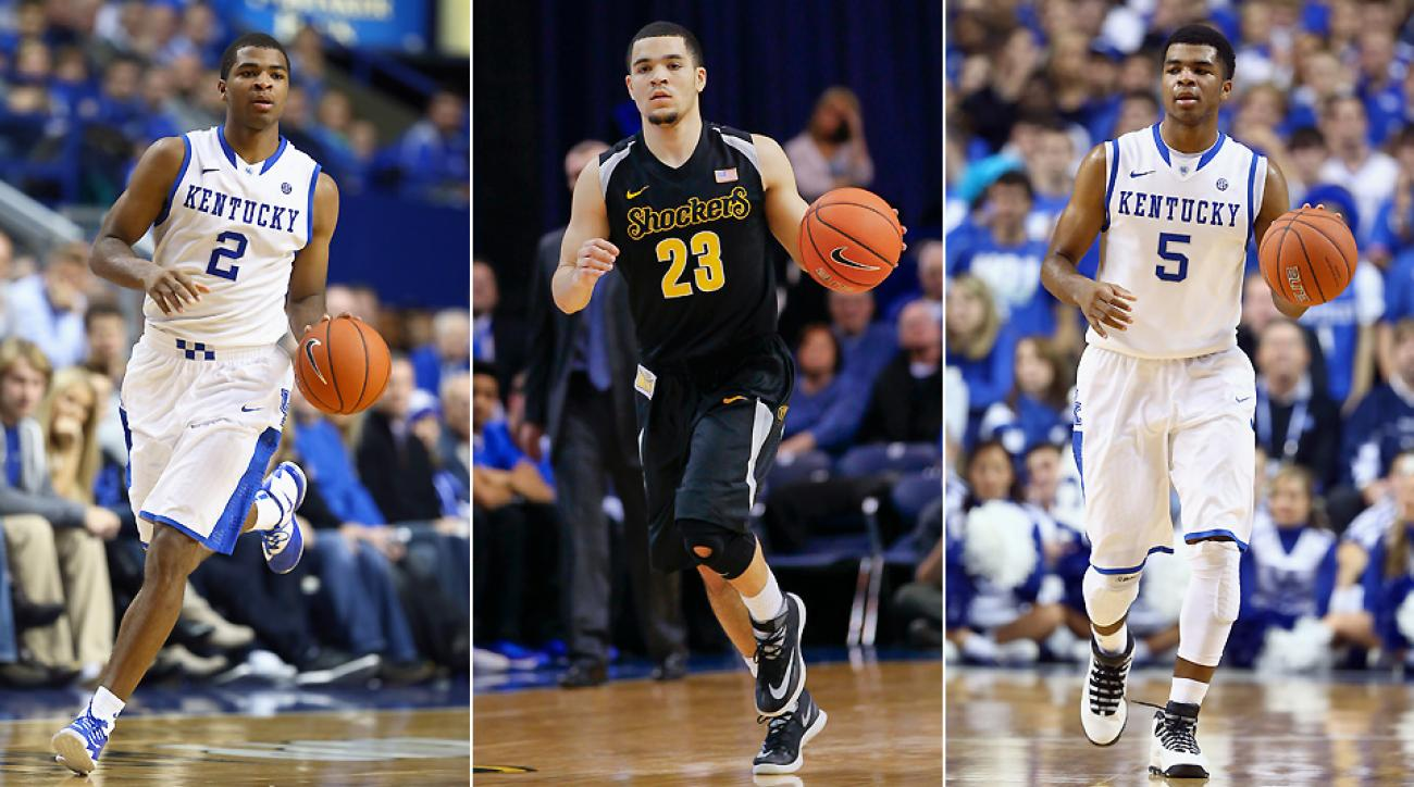 Juwan Staten, Fred VanVleet and Andrew Harrison