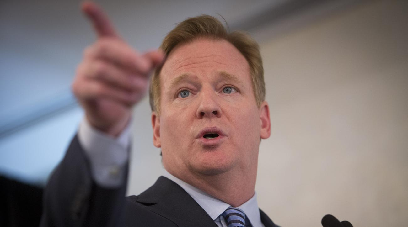 Roger Goodell NFL arrests violent