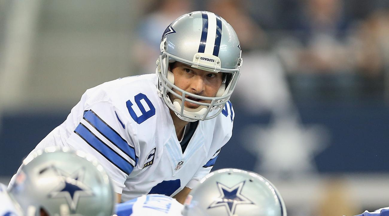 Dallas Cowboys Tony Romo rust