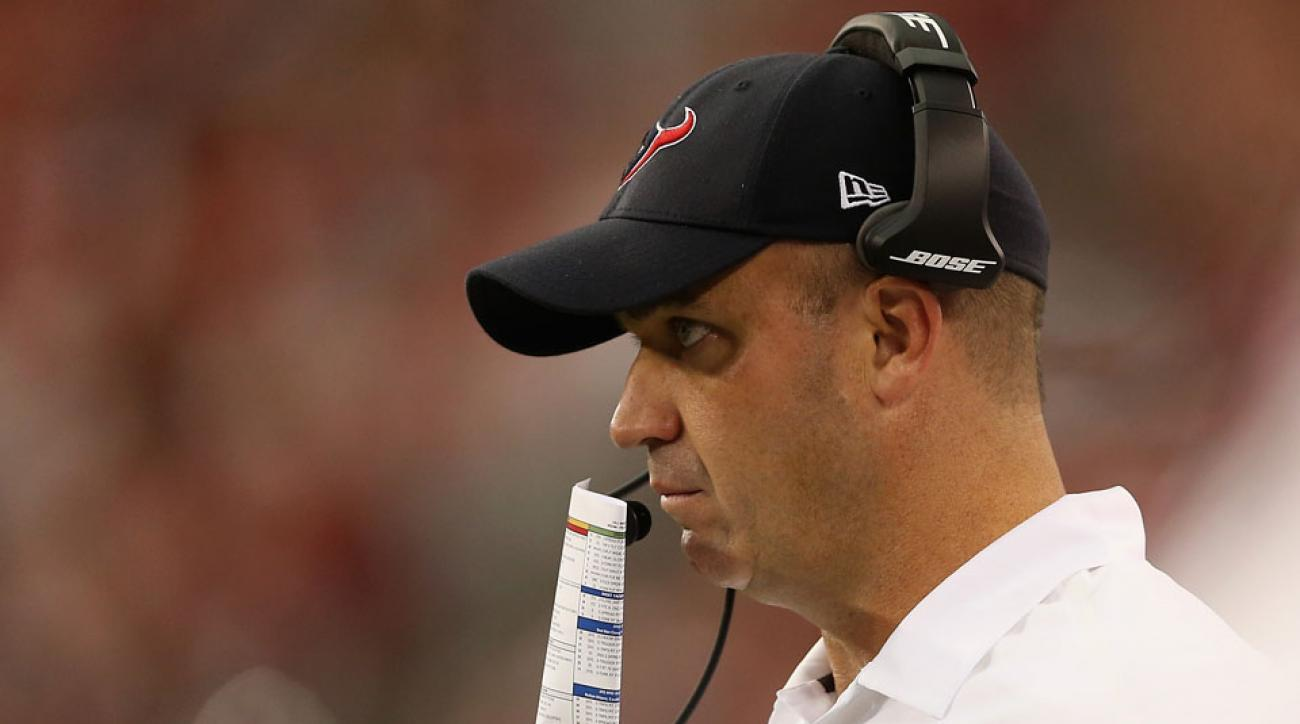 Bill O'Brien and the Texans play the Raiders this weekend.