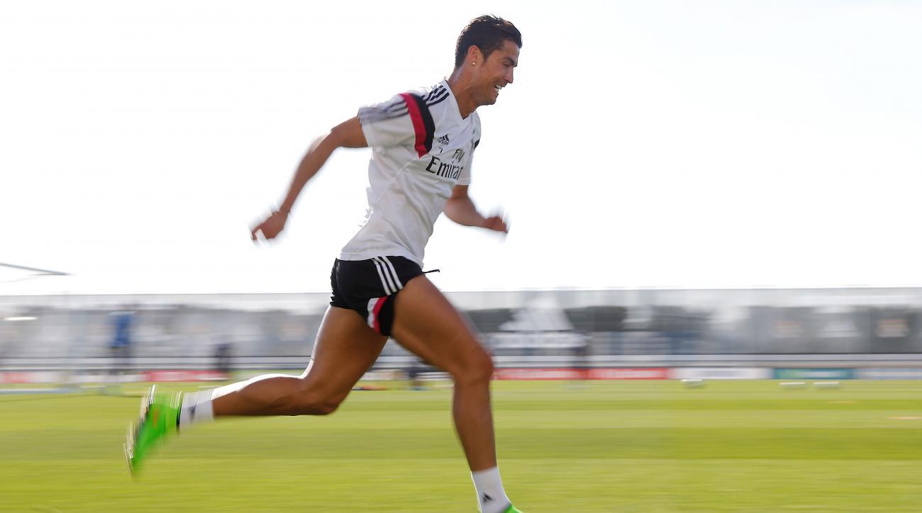 Carlo Ancelotti Cristiano Ronaldo fit real madrid atletico madrid