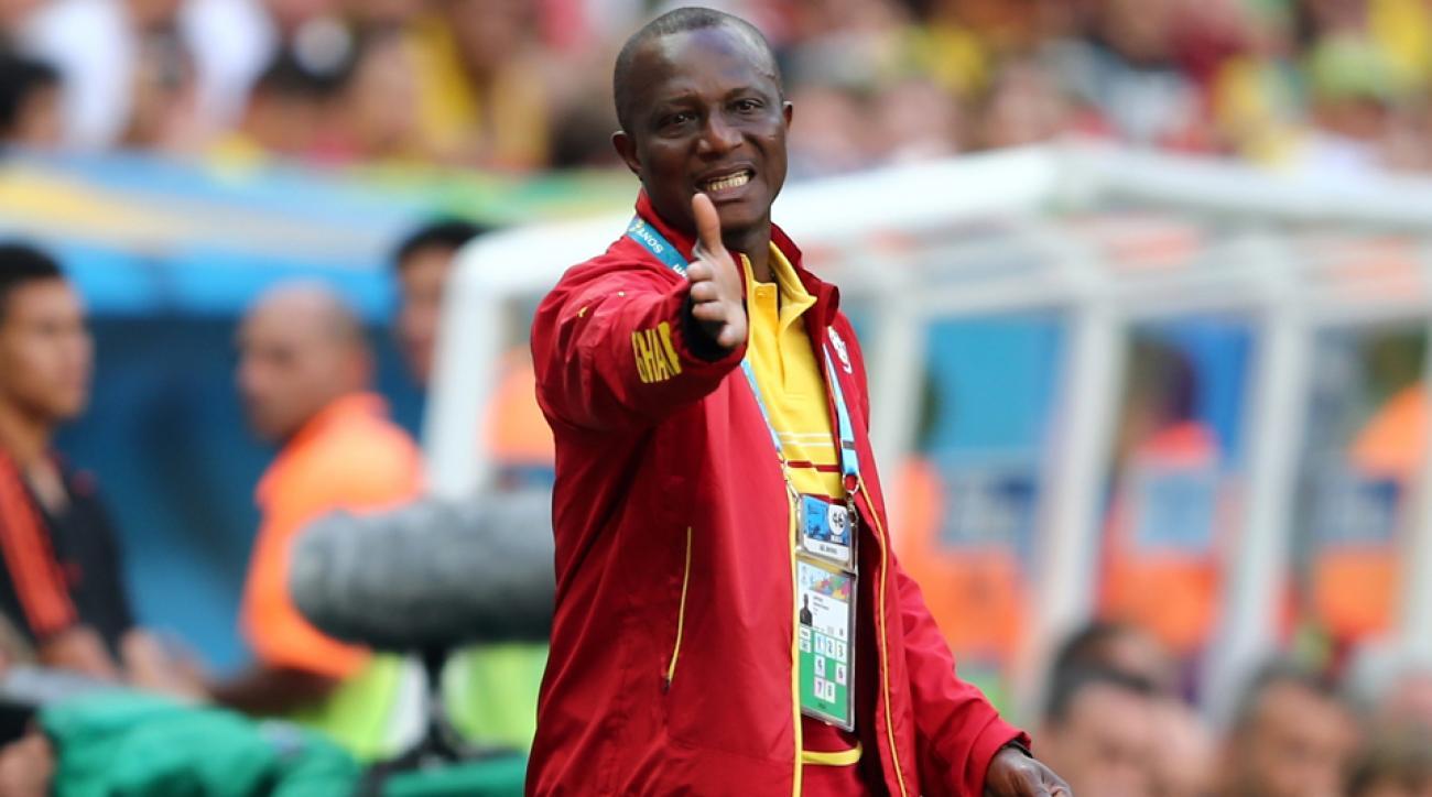 James Kwesi Appiah Ghana national team