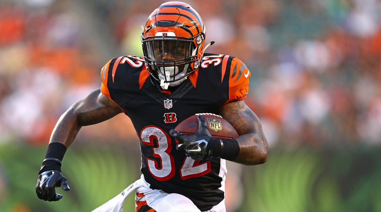 Bengals running back Jeremy Hill