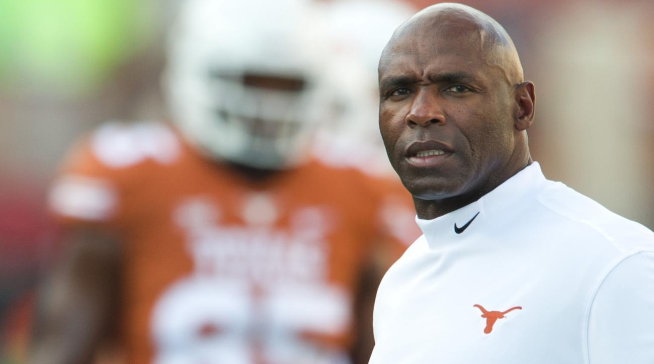 Charlie Strong Texas football coach