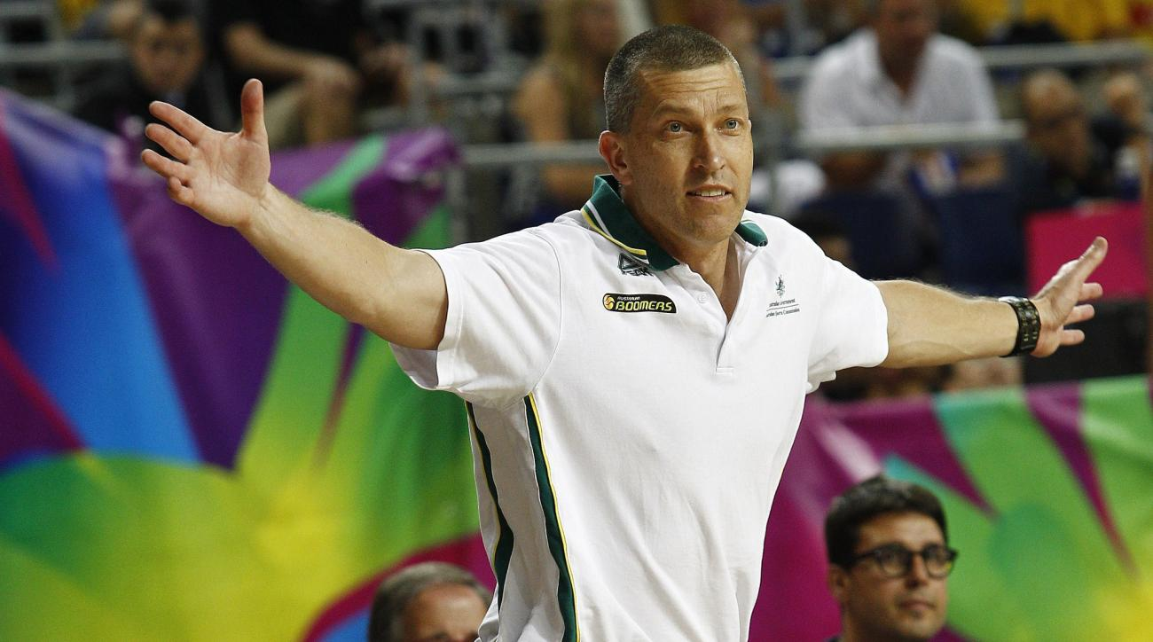 Australia's coach Andrej Lemanis is accused of intentionally losing vs. Angola