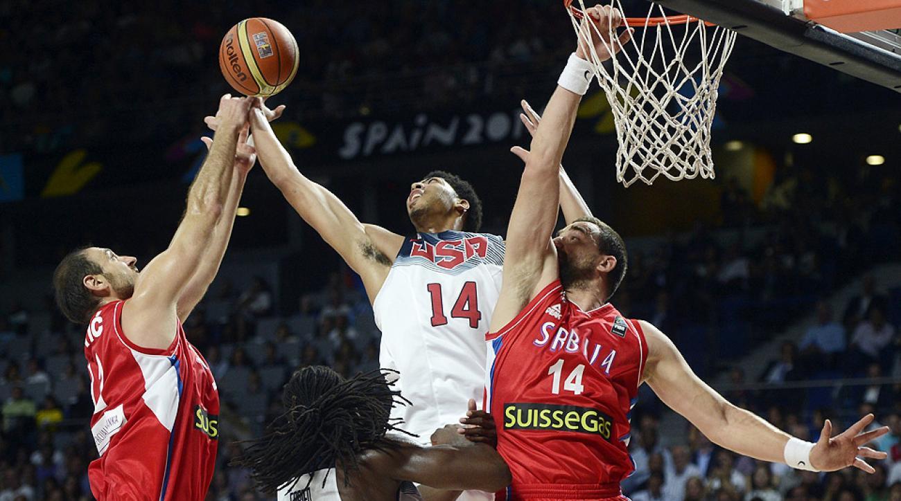 Anthony Davis headlines SI.com's FIBA World Cup All-Tournament team.
