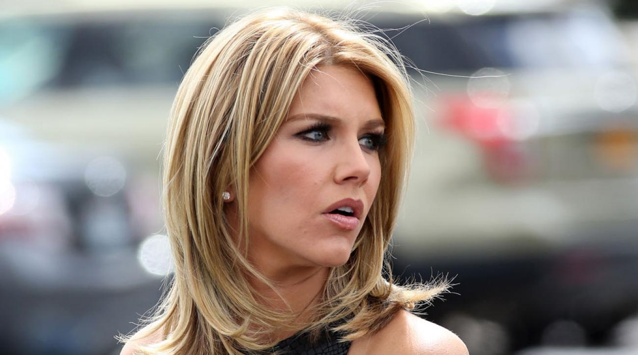 Charissa Thompson hosts Extra in addition to her duties at Fox Sports, which she joined after a stint at ESPN.